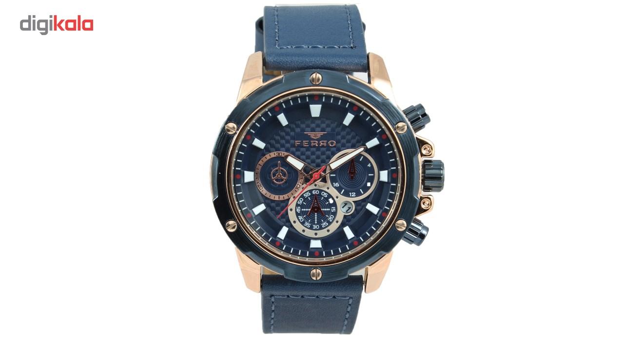 خرید ساعت مچی عقربه ای مردانه فرو مدل F30010-009-T