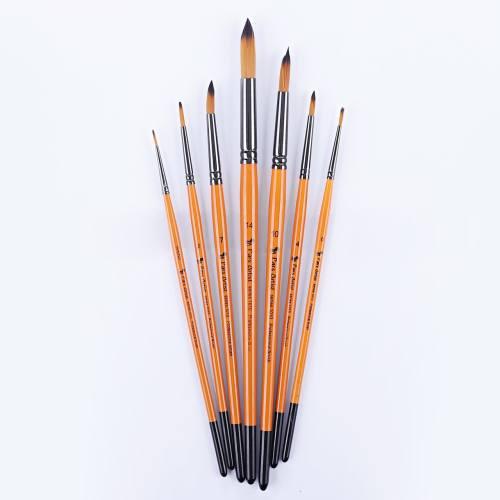 قلم مو پارس آرتیست کد 1010 گرد بسته 7 عددی