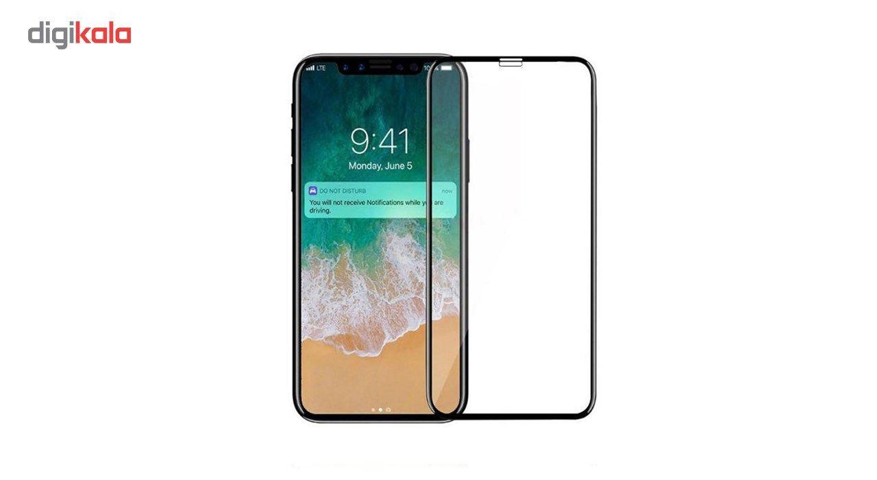 محافظ صفحه نمایش شیشه ای مدل Full Cover مناسب برای گوشی آیفون X / 10 main 1 1