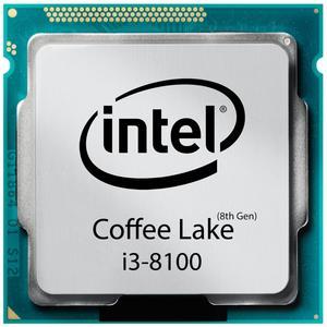 پردازنده مرکزی اینتل سری Coffee Lake مدل i3-8100 تری