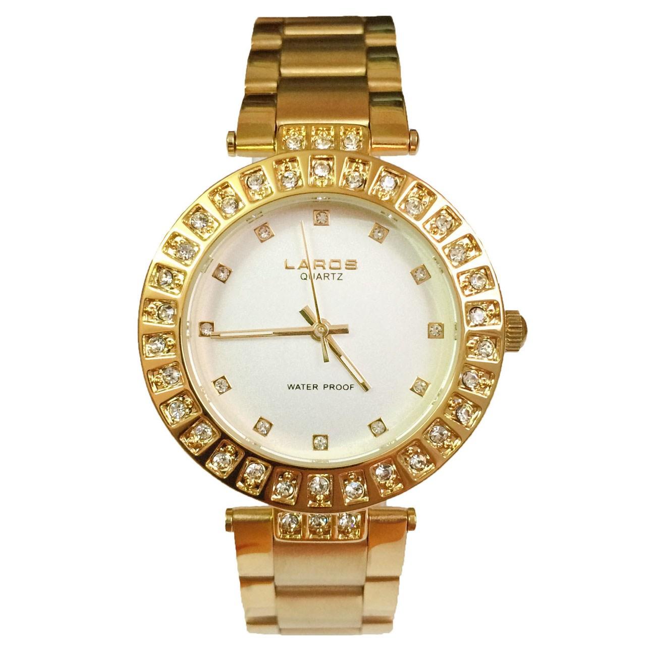 ساعت مچی عقربه ای زنانه لاروس مدل No 0917-80088