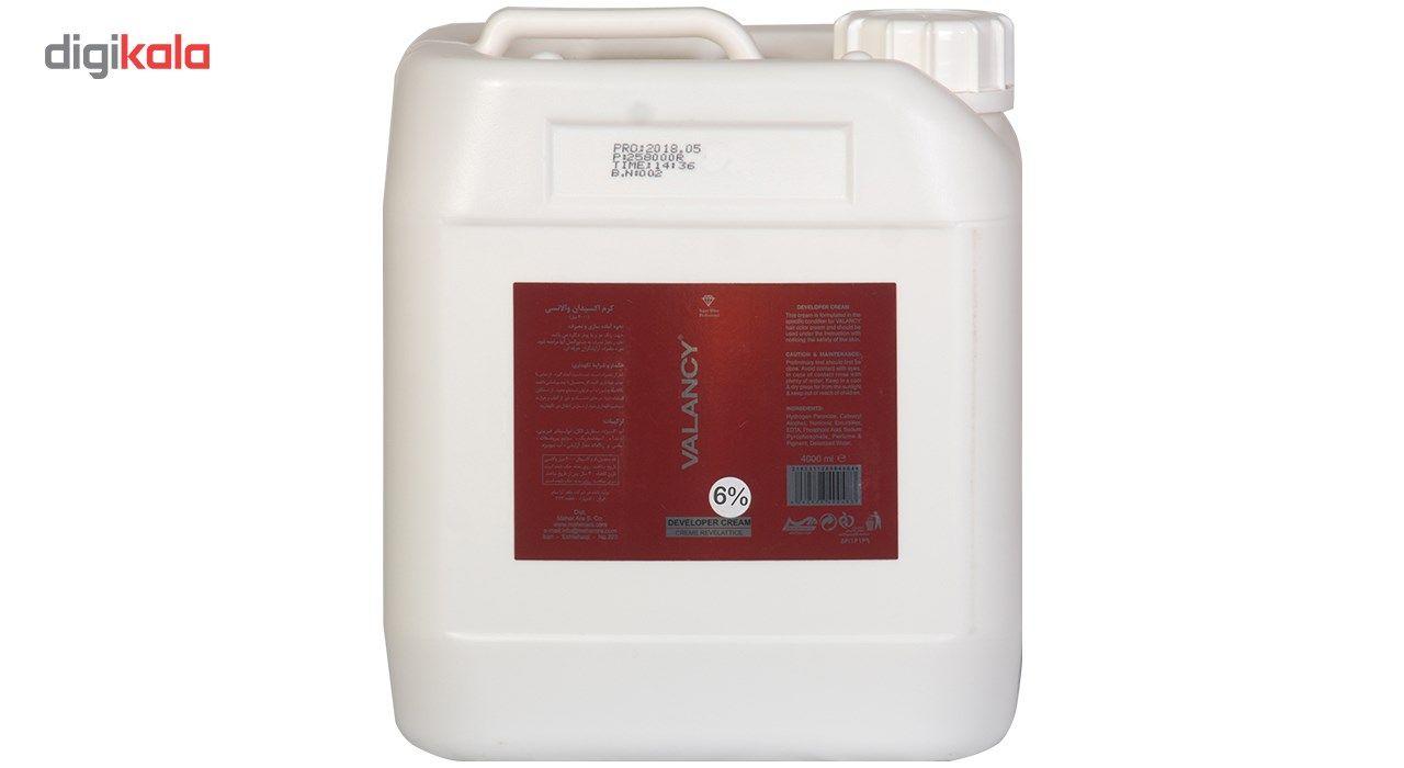 اکسیدان والانسی شش درصدی حجم 4000 میلی لیتر  VALANCY 6 Percent Oxidant 4000 ml