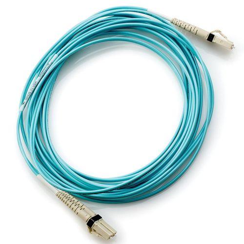 کابل پچ کورد فیبر نوری مالتی مود مدل  HP OM3 LC/LC  به طول 5 متر