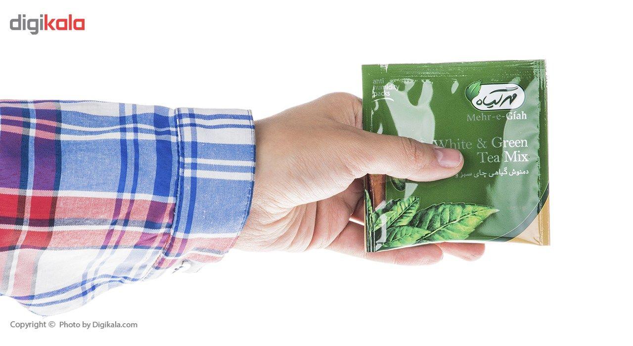 دمنوش گیاهی چای سبز و سفید مهرگیاه بسته 14 عددی main 1 7