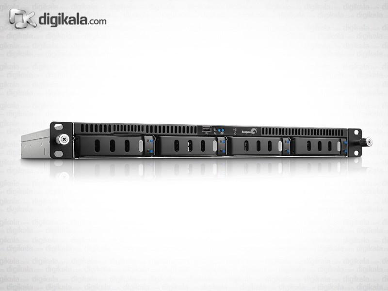 ذخیره ساز تحت شبکه 4Bay سیگیت مدل بیزینس استوریج رکمونت ظرفیت 4 ترابایت