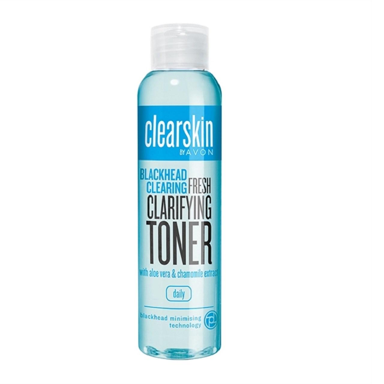 تونر صورت آون مدل Clearskin Blackhead Clearing Clarifying Toner حجم 100 میلی لیتر