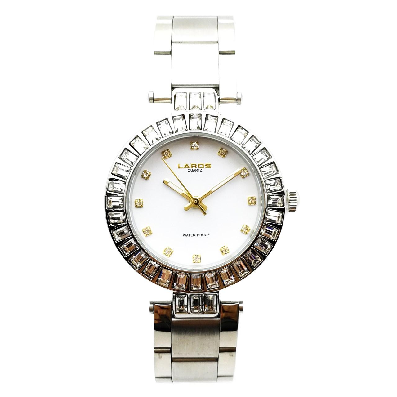 ساعت مچی عقربه ای زنانه لاروس مدل LW-A109-Silver