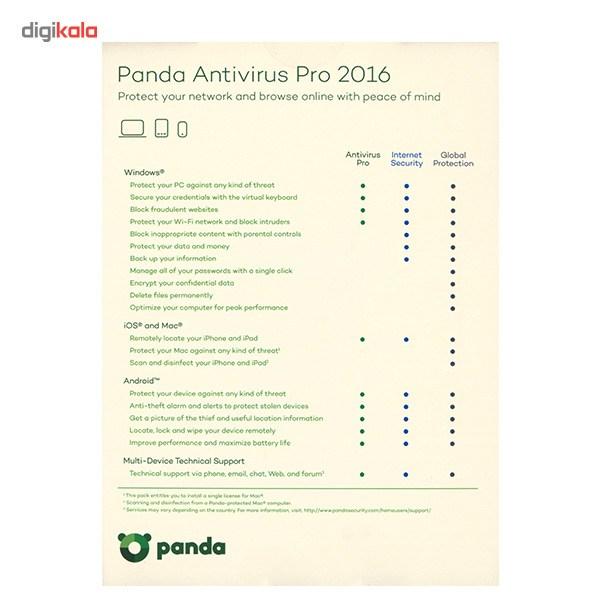 آنتی ویروس پاندا پرو 2016