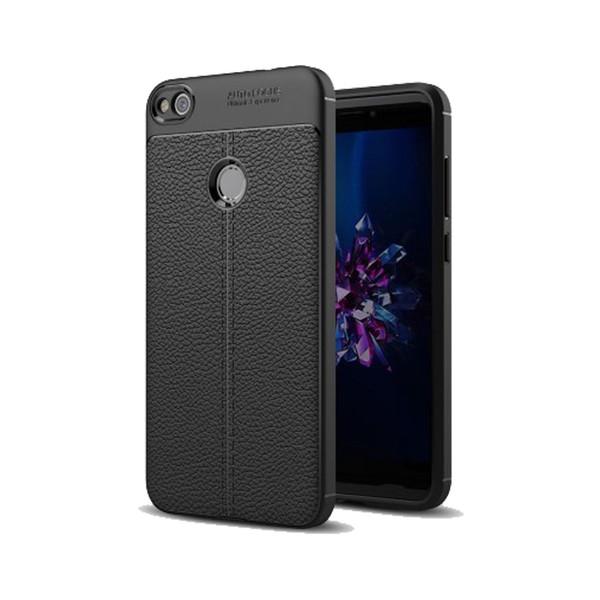 کاور ژله ای طرح چرم مناسب برای گوشی موبایل هوآوی Honor 8 Lite