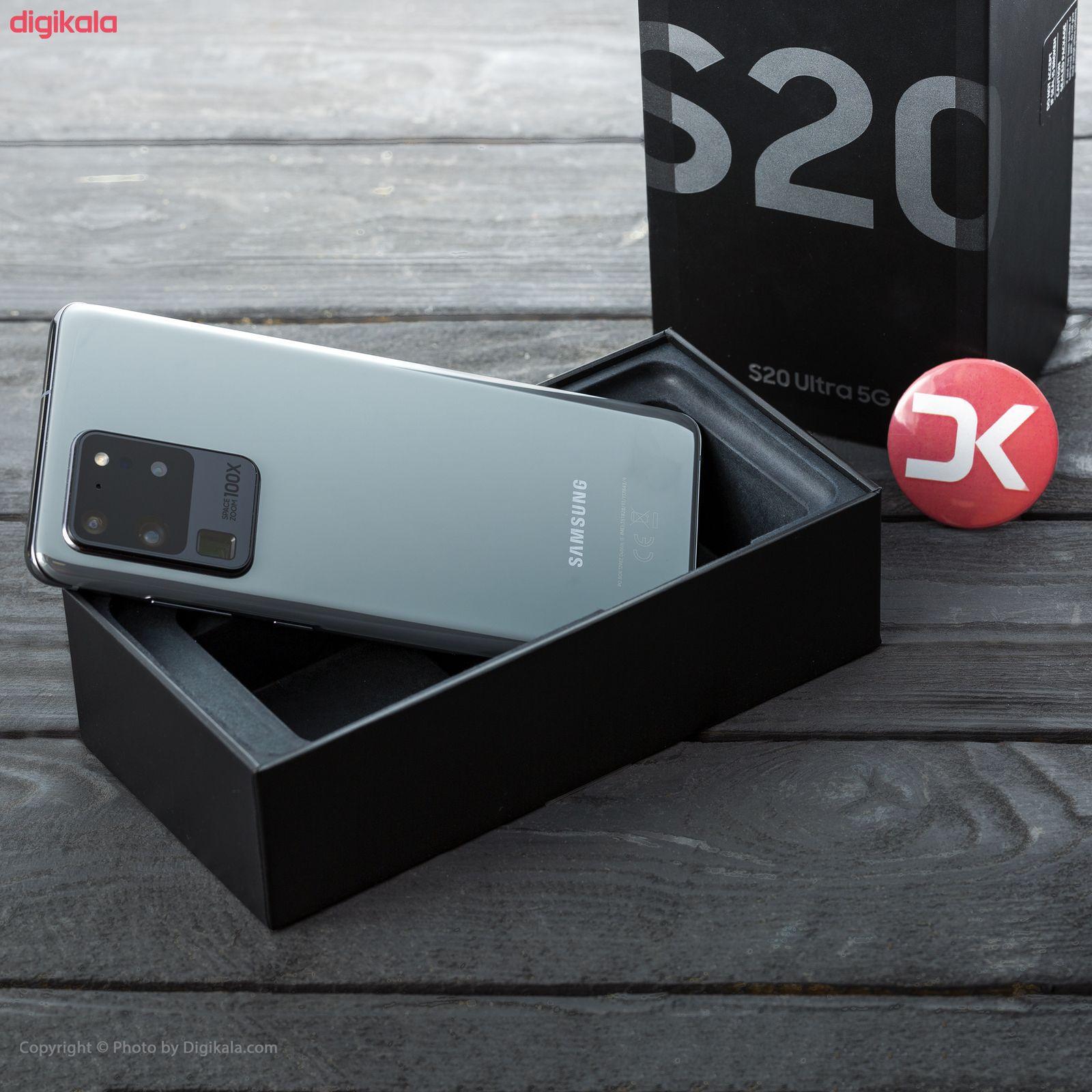گوشی موبایل سامسونگ مدل  Galaxy S20 Ultra SM-G988B/DS دو سیم کارت ظرفیت 128 گیگابایت  main 1 27