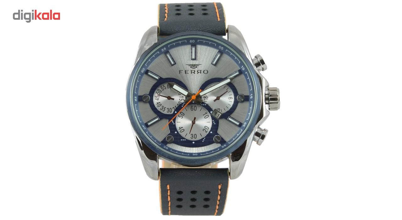 خرید ساعت مچی عقربه ای مردانه فرو مدل F61543-588-L