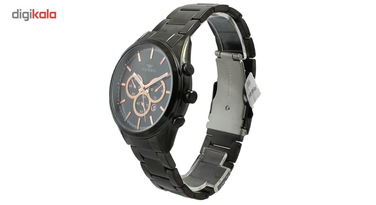 ساعت مچی عقربه ای مردانه فرو مدل F61465-540-V