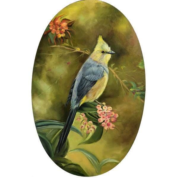 تابلو نقاشی گالری بارسین طرح پرنده