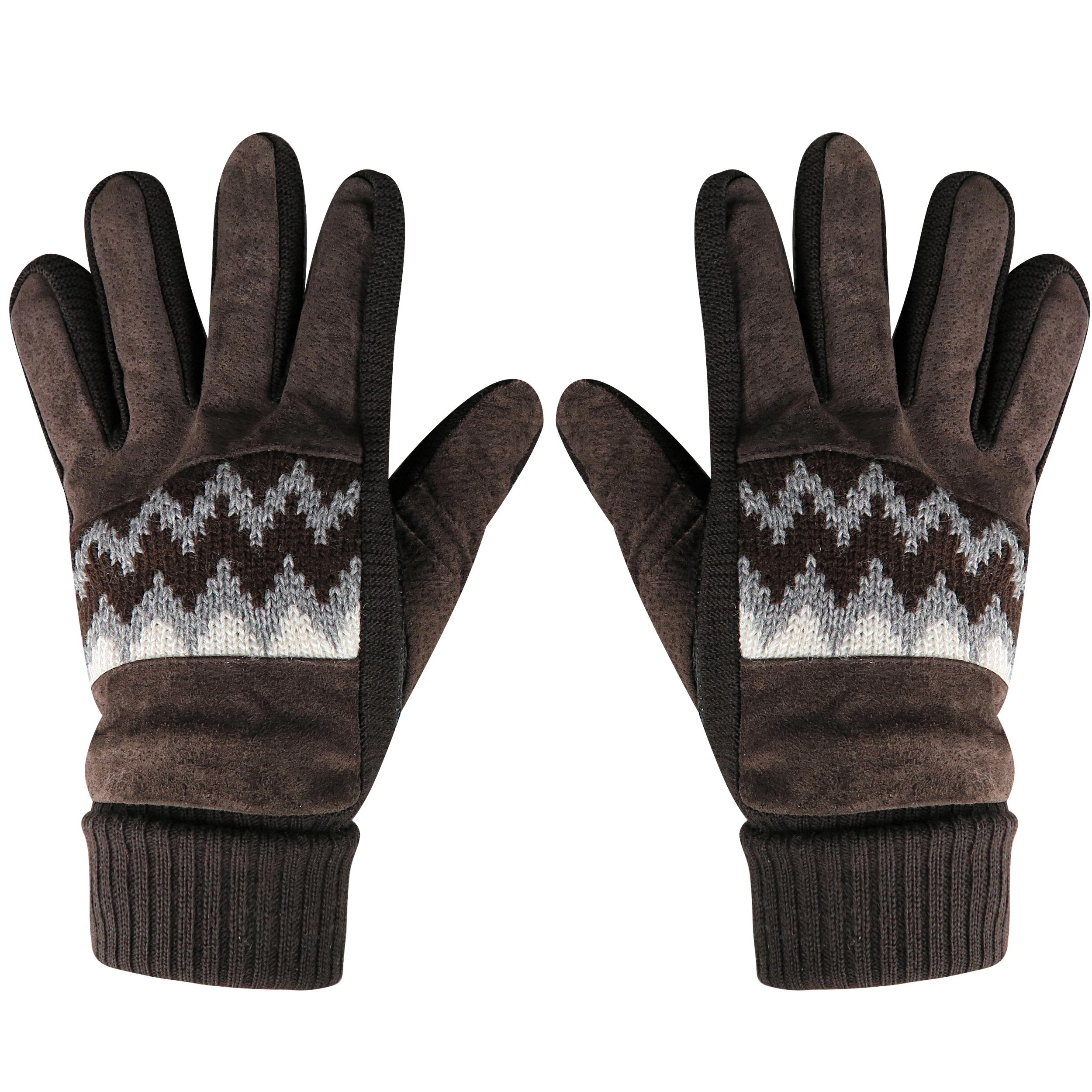 دستکش بافتنی مردانه مدل Dfv_12