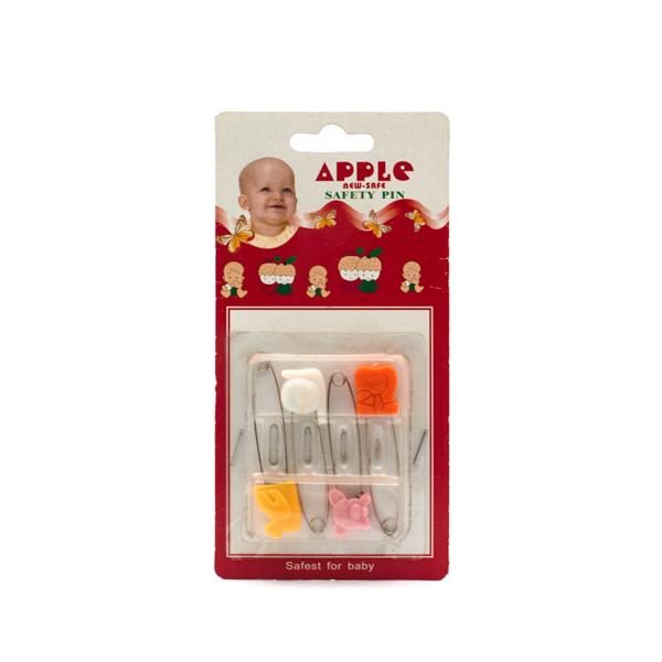 سنجاق کهنه کودک مدل A01 بسته 4 عددی