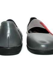 کفش روزمره زنانه آر اند دبلیو مدل 982 رنگ طوسی -  - 4