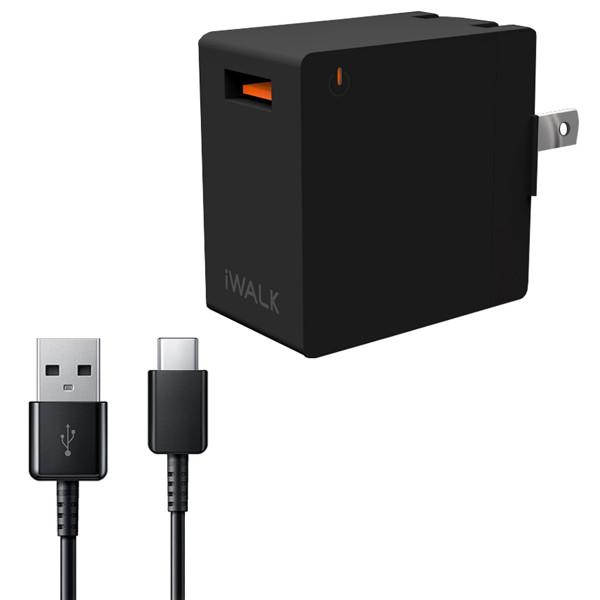 شارژر دیواری آی واک مدل LEOPARD به همراه کابل تبدیل USB-C
