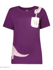 ست تی شرت و شلوارک راحتی زنانه مادر مدل 2041100-67 -  - 3