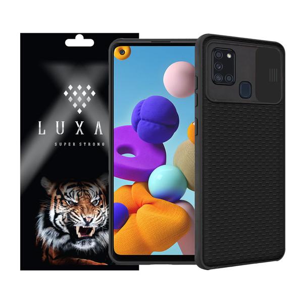 کاور لوکسار مدل LensPro-222 مناسب برای گوشی موبایل سامسونگ Galaxy A21s