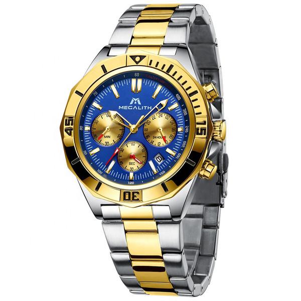 ساعت مچی عقربه ای مردانه مگالیت مدل 8206-SG