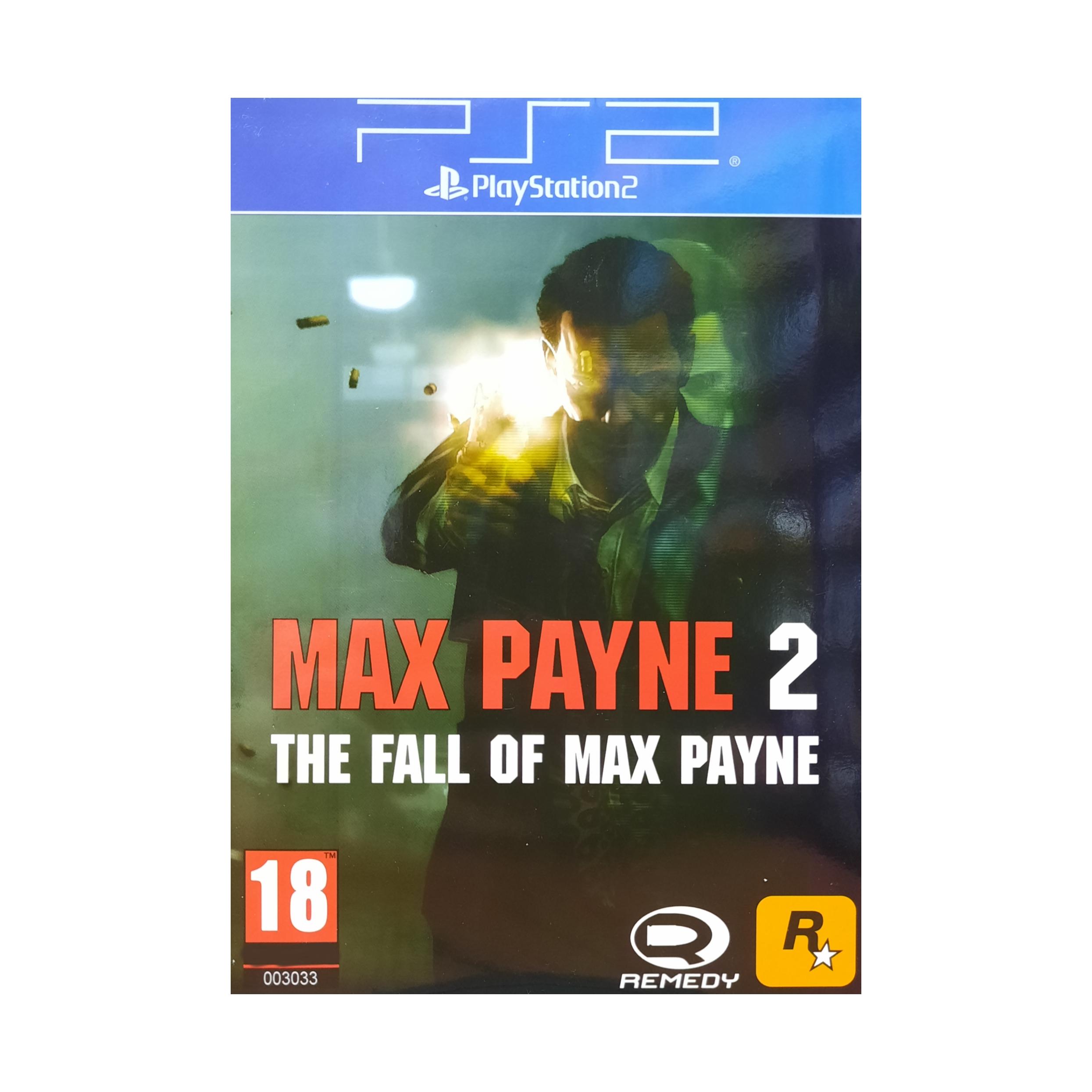 بازی Max Payne 2 مخصوص ps2