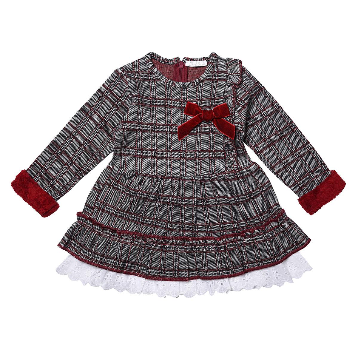 پیراهن دخترانه فیورلا مدل  آوا کد 31512