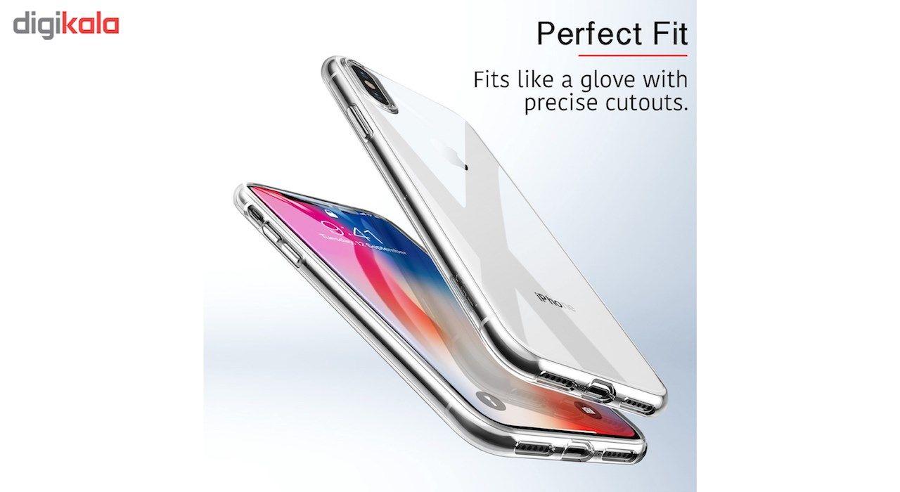 کاور ژله ای مدل Clear مناسب برای گوشی آیفون X main 1 2