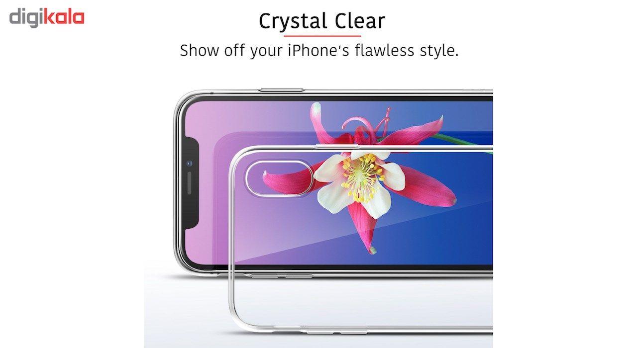 کاور ژله ای مدل Clear مناسب برای گوشی آیفون X main 1 3