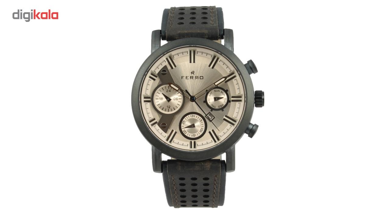 خرید ساعت مچی عقربه ای مردانه فرو مدل F61492-536-G2