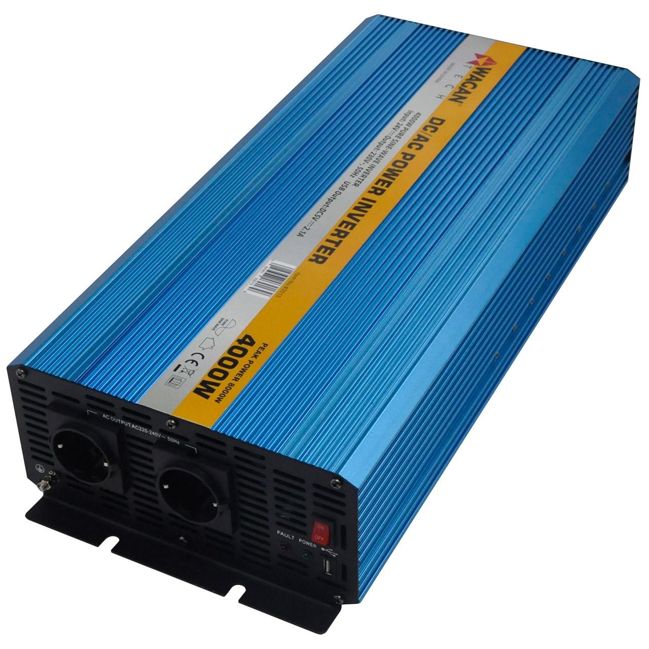 مبدل برق واگان مدل 3013 ظرفیت 4 کیلووات