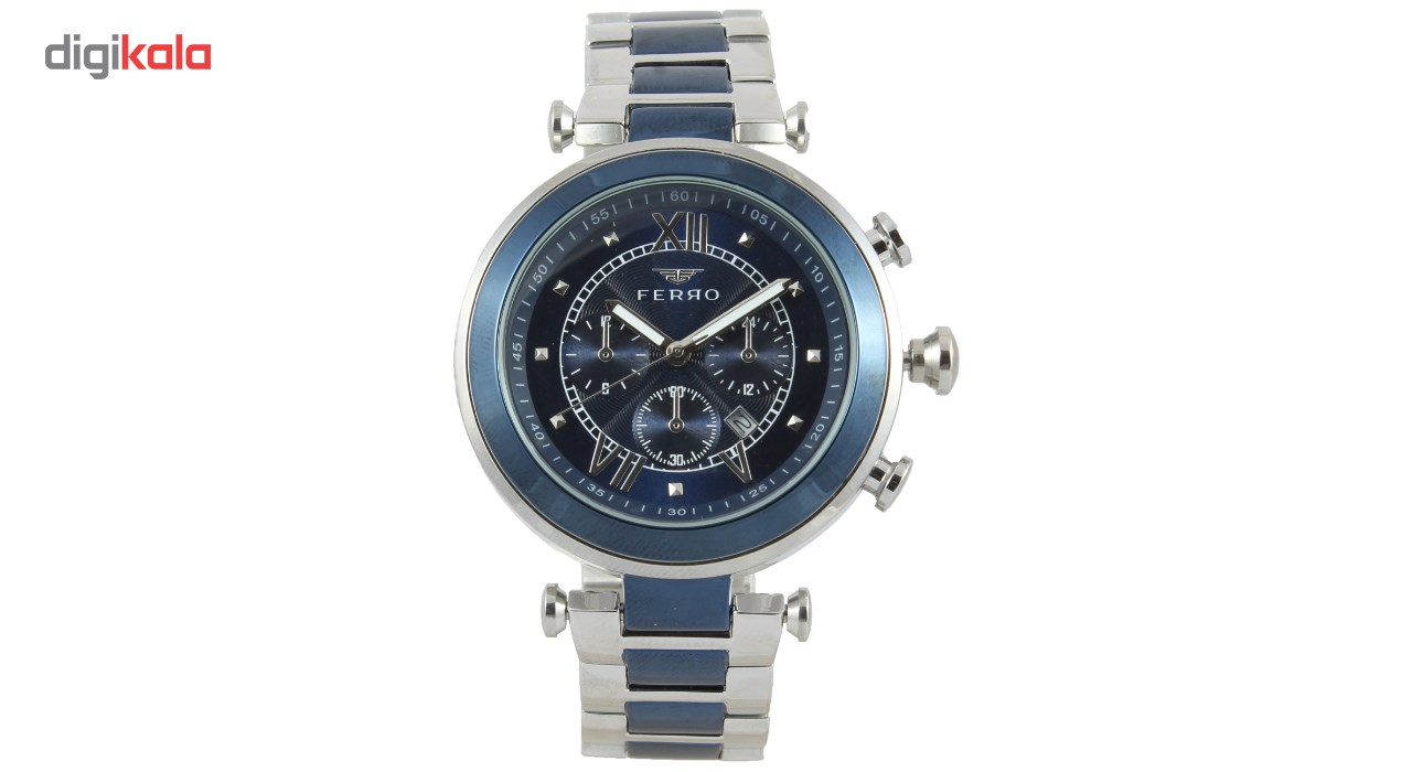 خرید ساعت مچی عقربه ای مردانه فرو مدل F71678-632-L