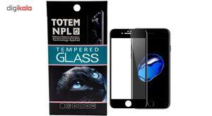 محافظ صفحه نمایش تمام چسب شیشه ای مدل 5D مناسب برای گوشی اپل آیفون 7 پلاس