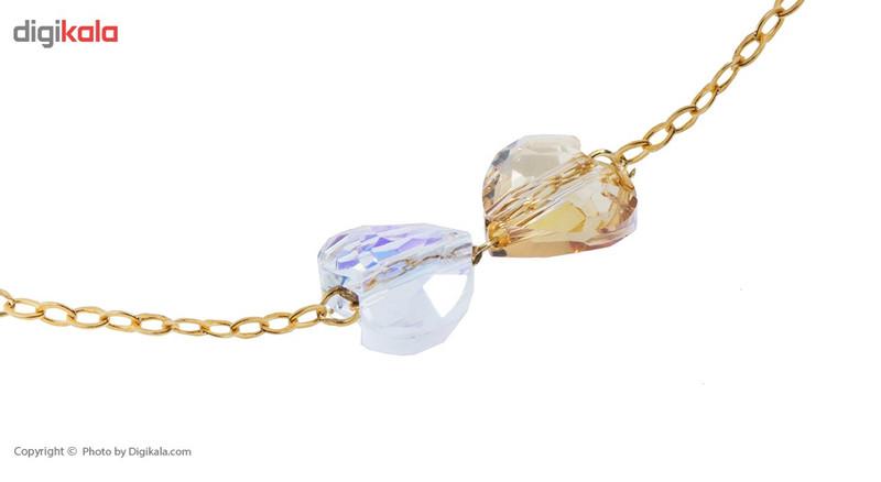 دستبند طلا 18 عیار ماهک مدل MB0775