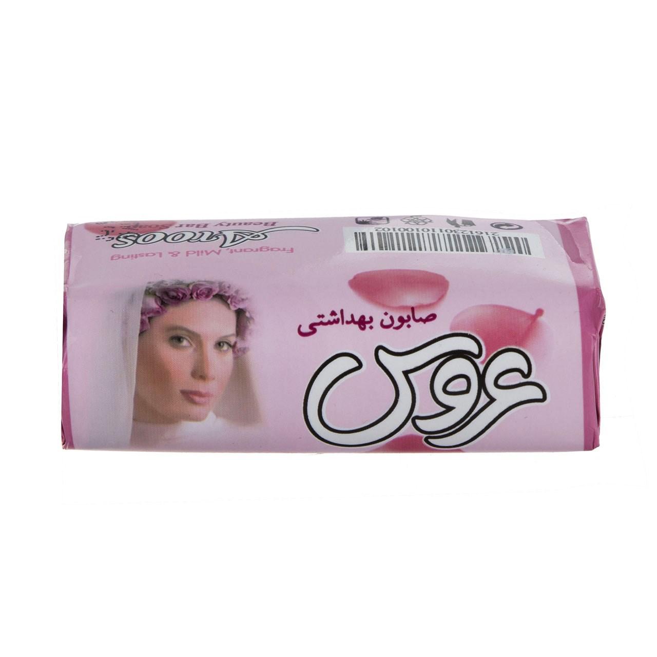 قیمت صابون زیبایی صورتی عروس مقدار 75 گرم