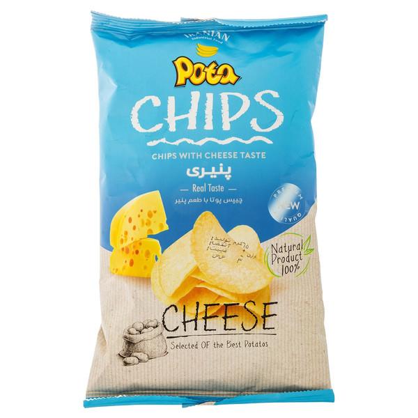 چیپس پنیری پوتا مقدار 40 گرم