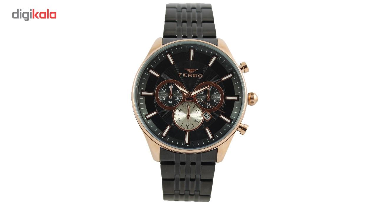 خرید ساعت مچی عقربه ای مردانه فرو مدل F40013-011-R