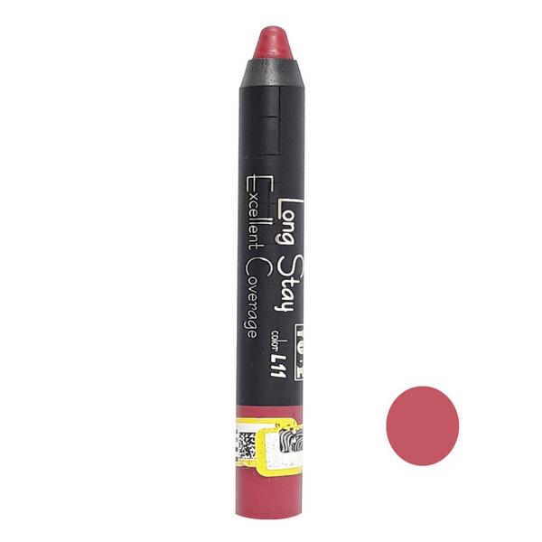 رژ لب مدادی یوبه شماره L11