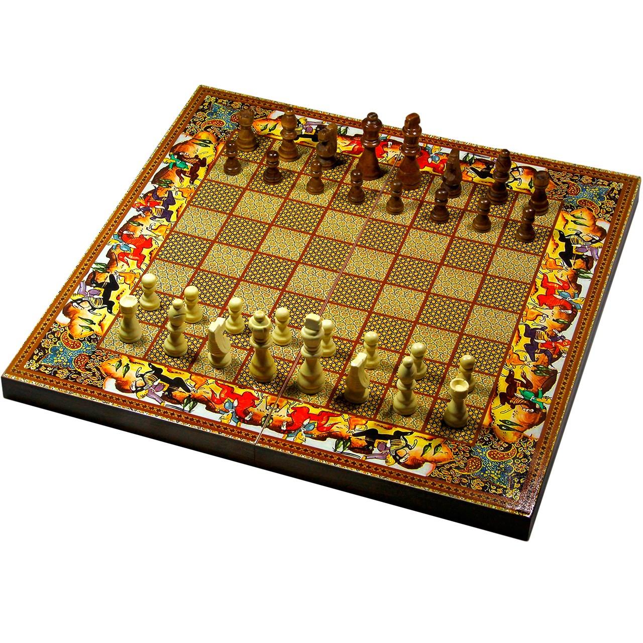 شطرنج الف با کد 308