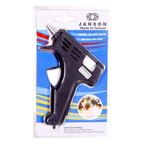 دستگاه چسب تفنگی ترنم مدل JANSON