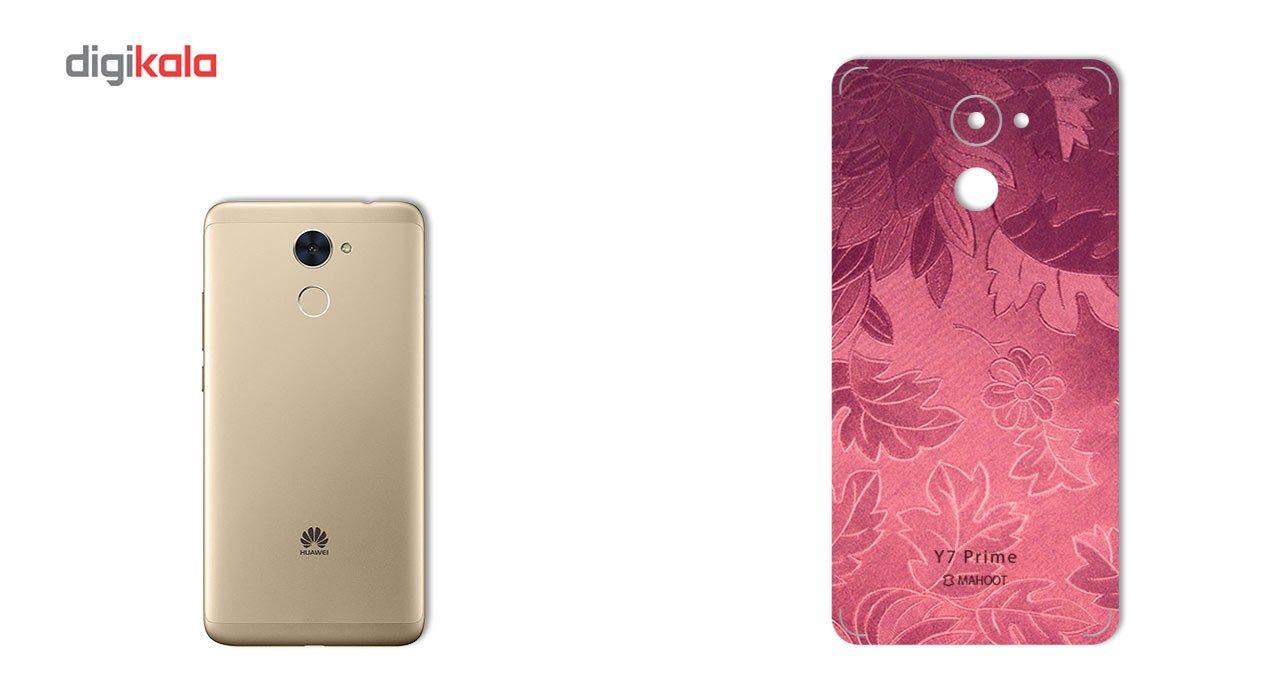 برچسب پوششی ماهوت مدل Wild-flower Texture مناسب برای گوشی  Huawei Y7 Prime main 1 2