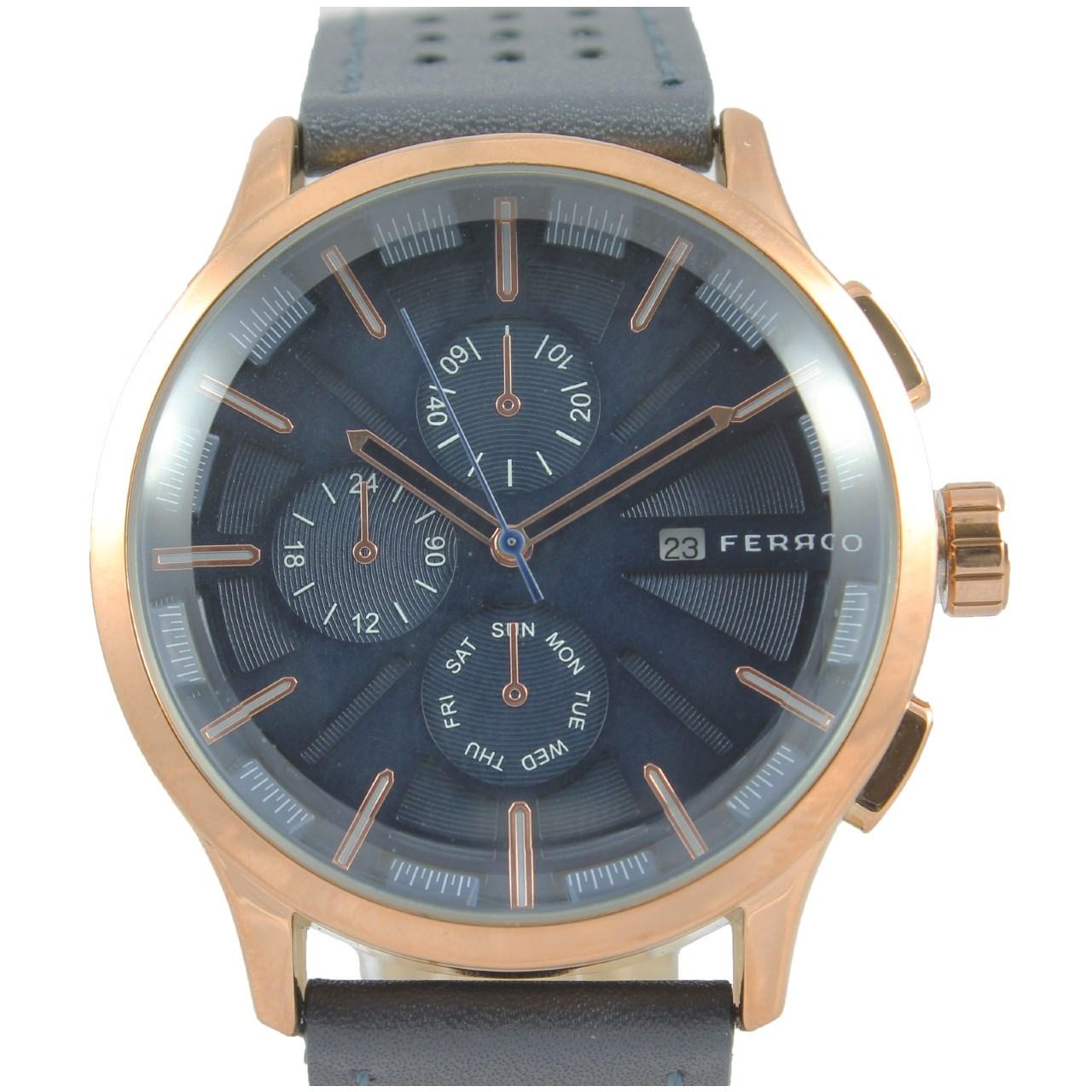 ساعت مچی عقربه ای مردانه فرو مدل F61154-567-C2
