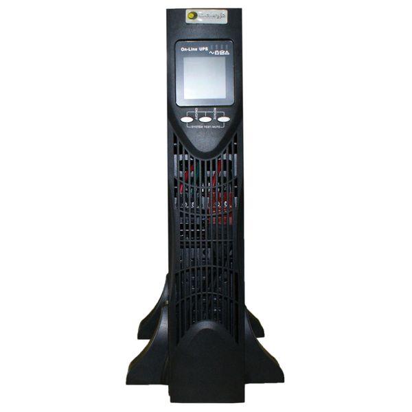 یو پی اس رک مونت تاور کانورتیبل هژیر صنعت مدل Genesis Plus RMI توان 3KVA آنلاین به همراه باتری داخلی