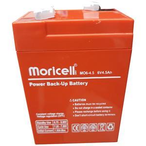باتری 6 ولت 4.5 آمپر موریسل مدل 64.5