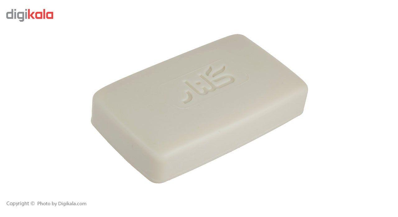 صابون حمام گلنار مقدار 130 گرم بسته 6 عددی main 1 2