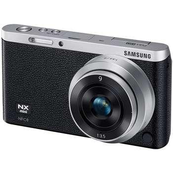 دوربین دیجیتال بدون آینه سامسونگ مدل NX Mini به همراه لنز 9 میلیمتر