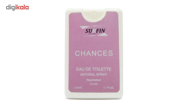 عطر جیبی زنانه سورفین مدل Chanel Chance حجم 20 میلی لیتر