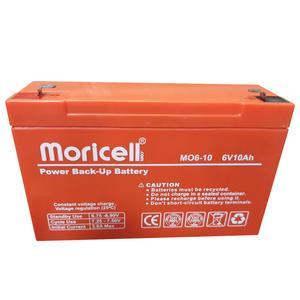 باتری 6 ولت 10 آمپر موریسل مدل 610