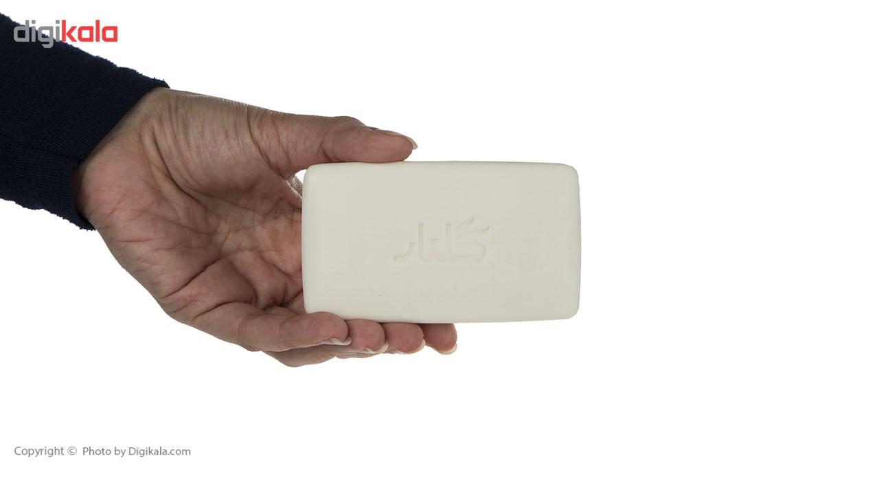 صابون حمام گلنار مقدار 130 گرم بسته 6 عددی main 1 4