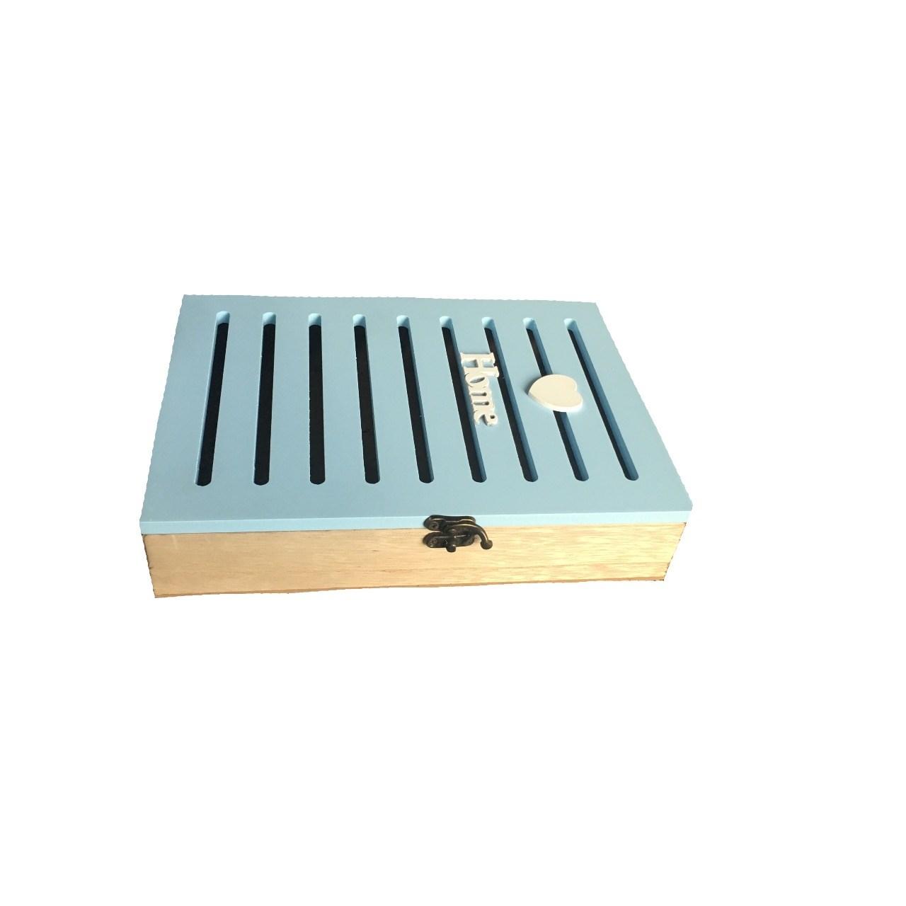 خرید                      جاکلیدی چوبی خانه سفید مدل Home کد 02