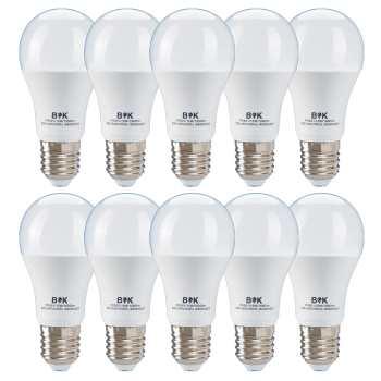 لامپ ال ای دی 15 وات بابک مدل حبابی پایه E27 بسته 10 عددی